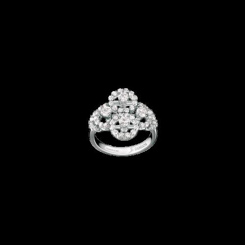 Anello Damiani Juliette in oro bianco e diamanti bianchi - 20021450 ***FP***