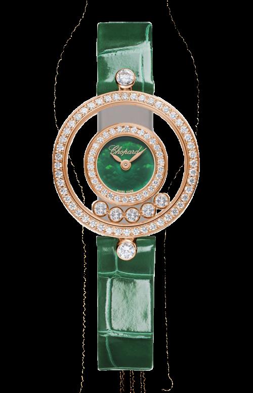 HAPPY DIAMONDS ICONS 26 MM, QUARZO, ORO ROSA, DIAMANTI - 203957-5209