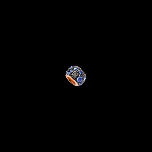 DODO FOLLOW YOUR DREAMS - RONDELLA - Rondella in oro rosa 9 kt. con zaffiri azzurri - D.RND/9/ZA