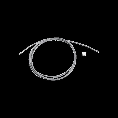 DODO CORDINI - CORDINO SOTTILE GRIGIO CON SIGILLO IN ARGENTO - DC.SIG/A/ANT1/K