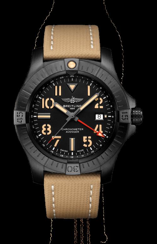 AVENGER AUTOMATIC GMT 45 NIGHT MISSION - V32395101B1X2