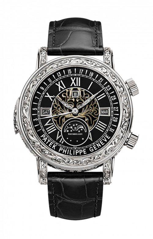 SKY MOON TOURBILLON DOUBLE-FACED - MINUTE REPEATER, PERPETUAL CALENDAR, MOON PHASES, SIDEREAL TIME - 6002G-010
