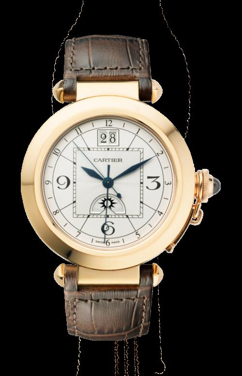 PASHA DE CARTIER 42 MM, AUTOMATICO, ORO ROSA, GMT - W3109151