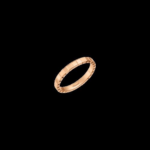 CHOPARD - ICE CUBE PURE - ANELLO IN ORO ROSA - 827702-5199
