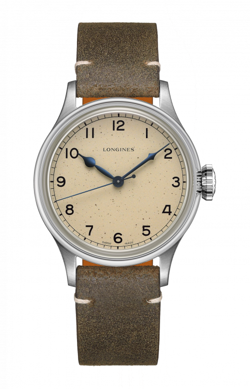 THE LONGINES HERITAGE MILITARY - L2.819.4.93.2