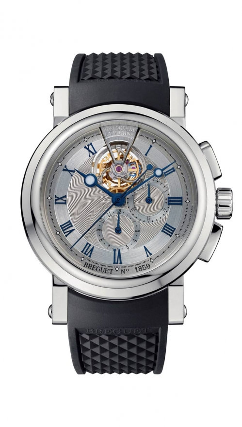 MEN'S MARINE CHRONOGRAPH TOURBILLON - 5837PT/U2/5ZU