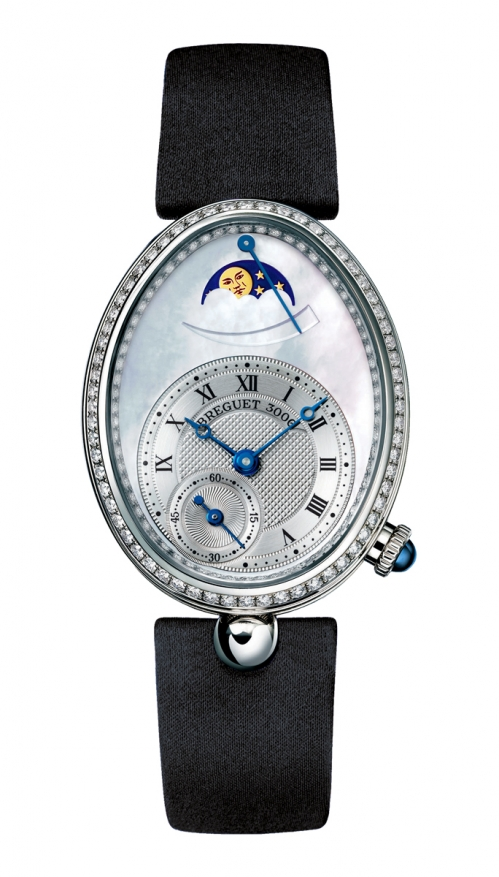 LADIES' REINE DE NAPLES MOON PHASES - 8908BB/52/864/D00D
