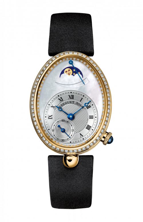LADIES' REINE DE NAPLES MOON PHASES - 8908BA/52/864/D00D