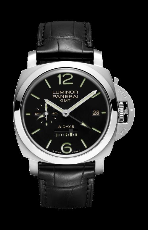 LUMINOR 1950 8 DAYS GMT ACCIAIO - 44MM - PAM00233