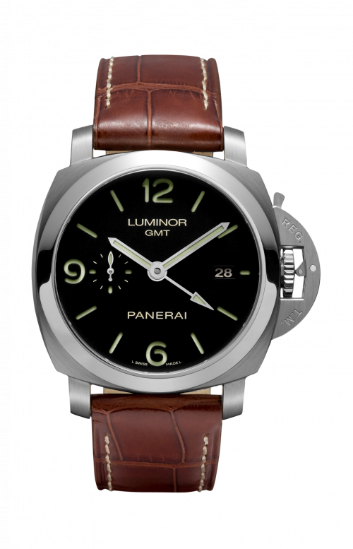 LUMINOR 1950 3 DAYS GMT AUTOMATIC ACCIAIO - 44MM - PAM00320