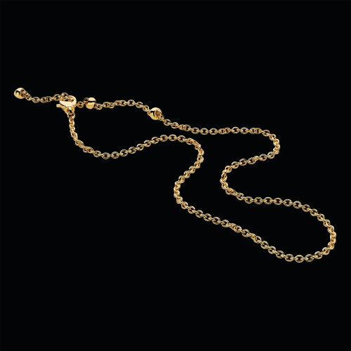 Catena in oro giallo 18 carati. 62-66-70 cm