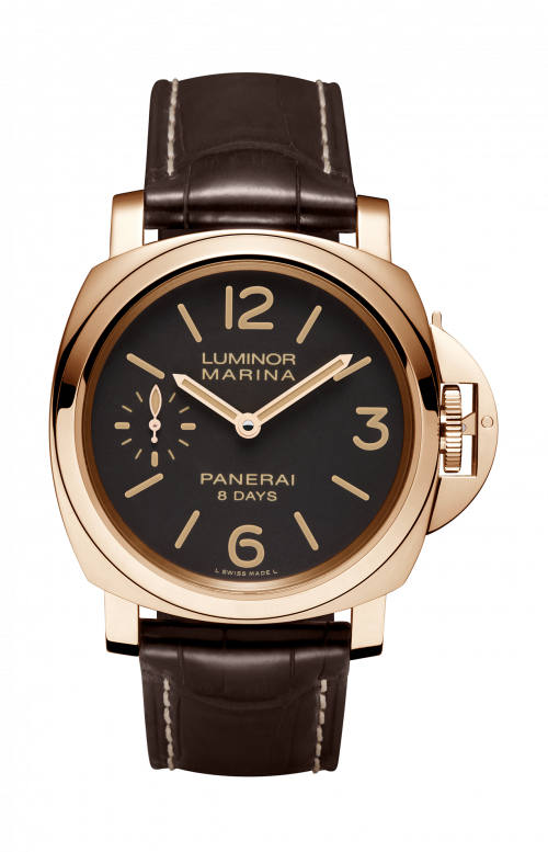 LUMINOR MARINA 8 DAYS ORO ROSSO - 44MM - PAM00511
