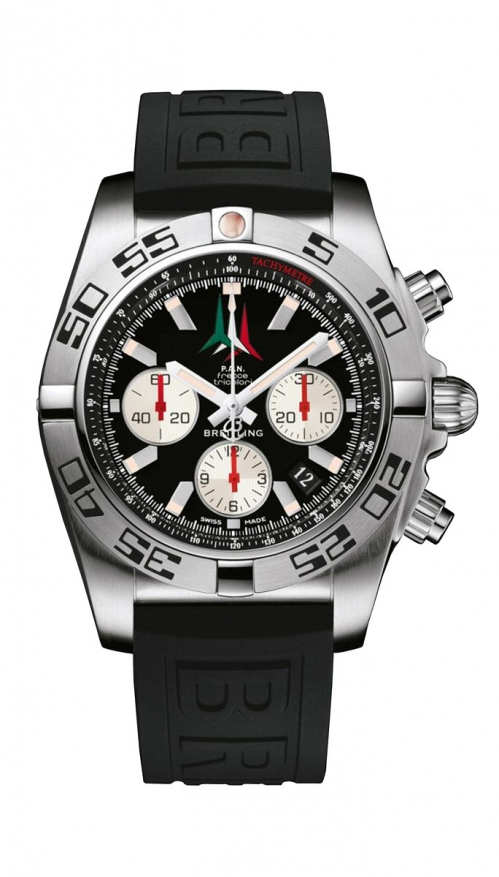 CRONOMAT 44 P.A.N. FRECCE TRICOLORE CHRONOGRAPH - LIMITED EDITION - AB01104D/BC62/153S