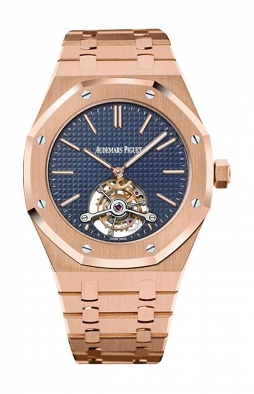 ROYAL OAK EXTRA-THIN TOURBILLON - AVAILABILITY TO BE CONFIRMED - 26510OR.OO.1220OR.01