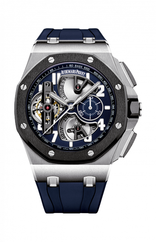 ROYAL OAK OFFSHORE CRONOGRAFO TOURBILLON - Disponibilità da confermare - 26388PO.OO.D027CA.01