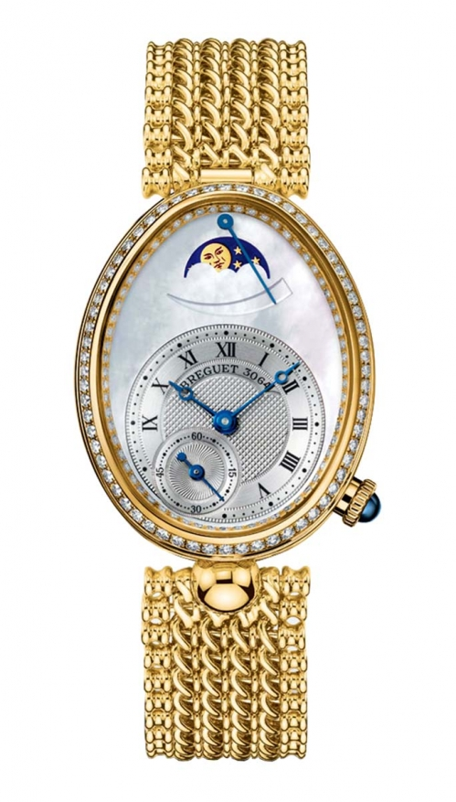 LADIES' REINE DE NAPLES MOON PHASES - 8908BA/52/J20/D000