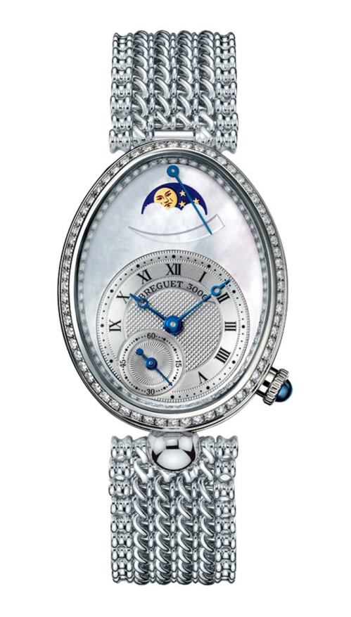 LADIES' REINE DE NAPLES MOON PHASES - 8908BB/52/J20/D000
