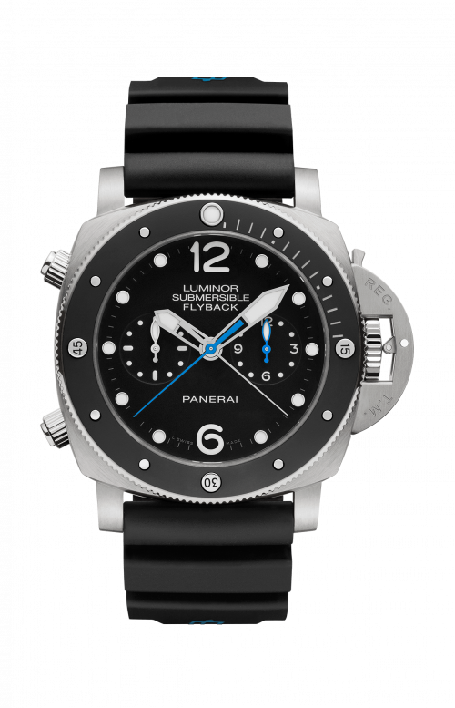 LUMINOR SUBMERSIBLE 1950 3 DAYS CHRONO FLYBACK AUTOMATIC TITANIO - 47MM - PAM00615