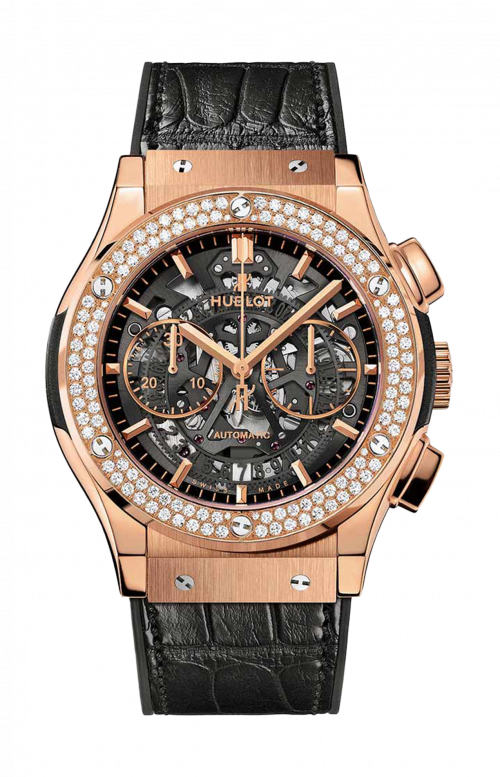 AEROFUSION KING GOLD DIAMONDS CHRONOGRAPH - 525.OX.0180.LR.1104