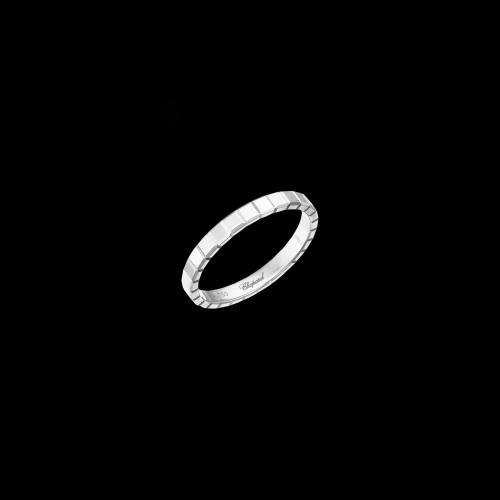 CHOPARD - ICE CUBE PURE - ANELLO IN ORO BIANCO - 827702-1011