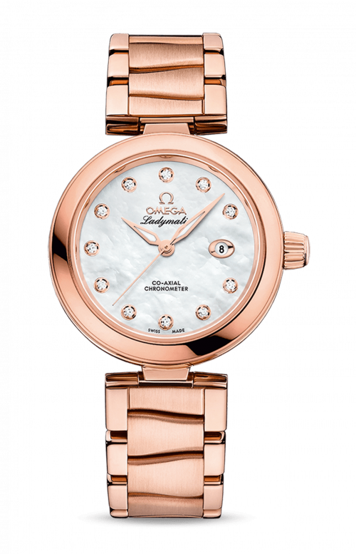 LADYMATIC CO-AXIAL SEDNA GOLD - 425.60.34.20.55.004