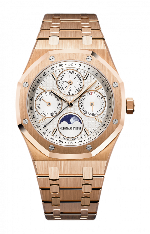 ROYAL OAK PERPETUAL CALENDAR - AVAILABILITY TO BE CONFIRMED - 26574OR.OO.1220OR.01
