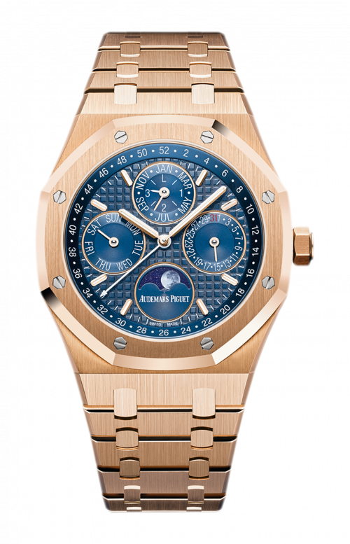 ROYAL OAK PERPETUAL CALENDAR - 26574OR.OO.1220OR.02
