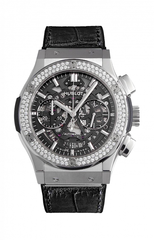 AEROFUSION TITANIUM DIAMONDS CHRONOGRAPH - 525.NX.0170.LR.1104