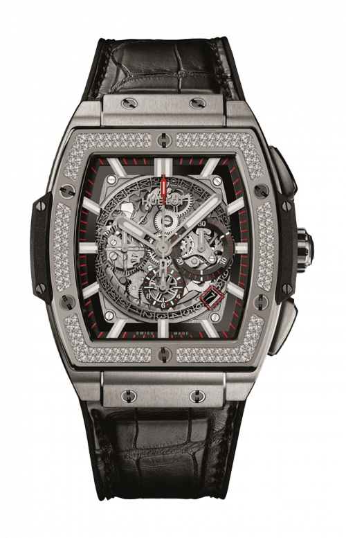 TITANIUM DIAMONDS CHRONOGRAPH - 601.NX.0173.LR.1104