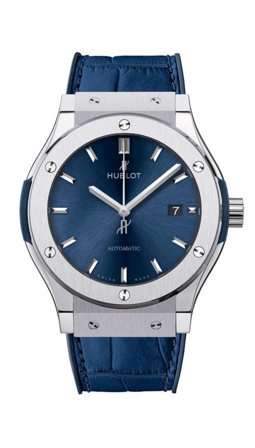 BLUE TITANIUM - 542.NX.7170.LR