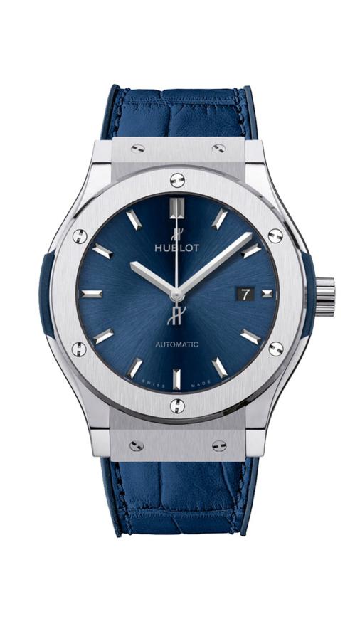 BLUE TITANIUM - 581.NX.7170.LR