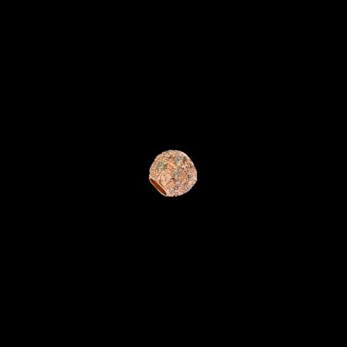 DODO FOLLOW YOUR DREAMS - PEPITA - Pepita in oro rosa 9kt con diamanti brown - D.PEPP/9/BR