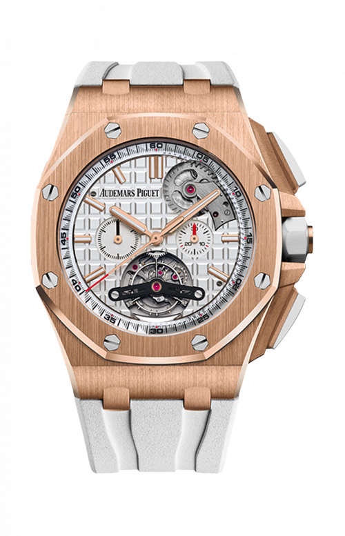 ROYAL OAK OFFSHORE TOURBILLON CRONOGRAFO AUTOMATICO - BOUTIQUE EXCLUSIVE - Disponibilità da confermare - 26540OR.OO.A010CA.01