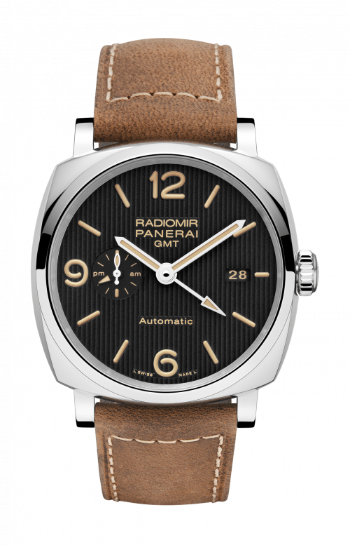 RADIOMIR 1940 3 DAYS GMT AUTOMATIC ACCIAIO – 45MM - PAM00657