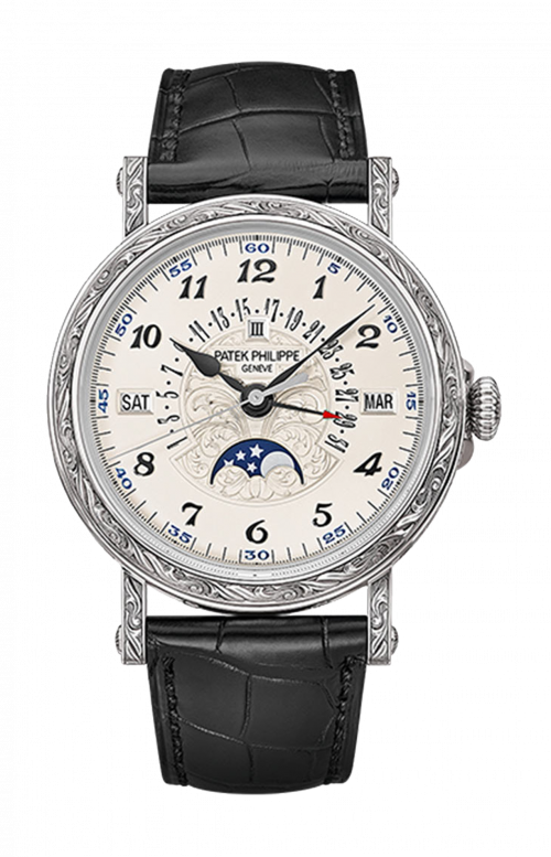 PERPETUAL CALENDAR MOONPHASE - 5160/500G-001
