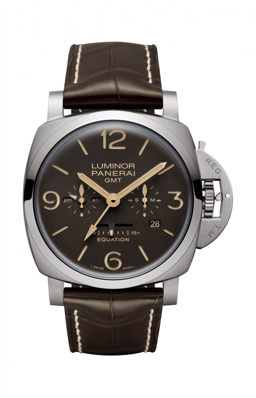 LUMINOR 1950 EQUATION OF TIME 8 DAYS GMT TITANIO - 47MM - PAM00656