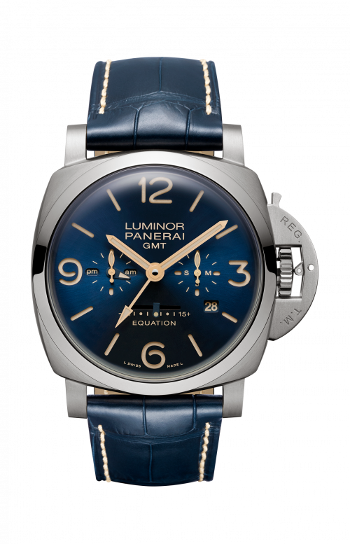 LUMINOR 1950 EQUATION OF TIME 8 DAYS GMT TITANIO - 47MM - PAM00670
