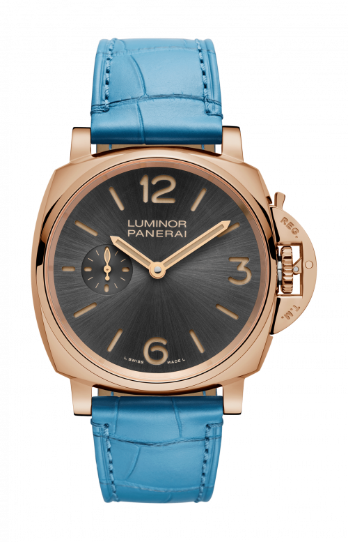 LUMINOR DUE 3 DAYS ORO ROSSO - 42 MM - PAM00677
