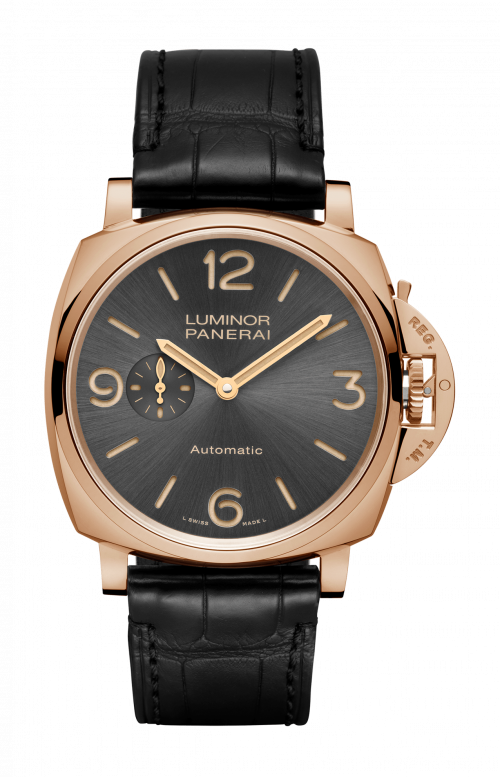 LUMINOR DUE 3 DAYS AUTOMATIC ORO ROSSO - 45 MM - PAM00675