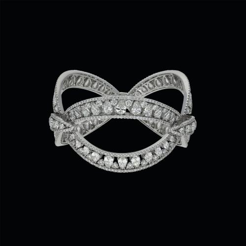 Bracciale in oro bianco 18 carati con diamanti