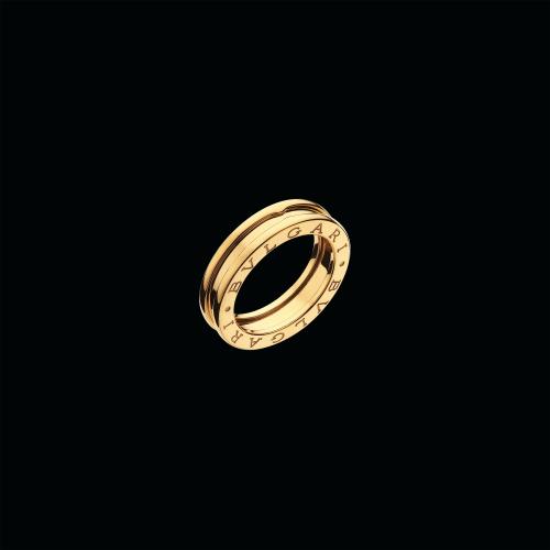 Anello B.zero1 a 1 fascia in oro giallo 18 carati