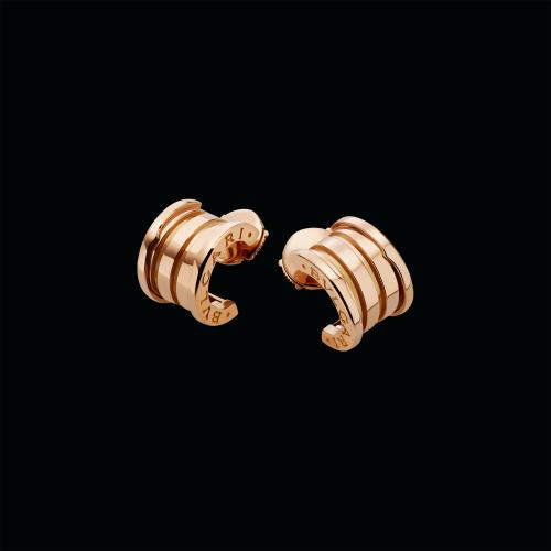 Orecchini B.zero1 in oro rosa