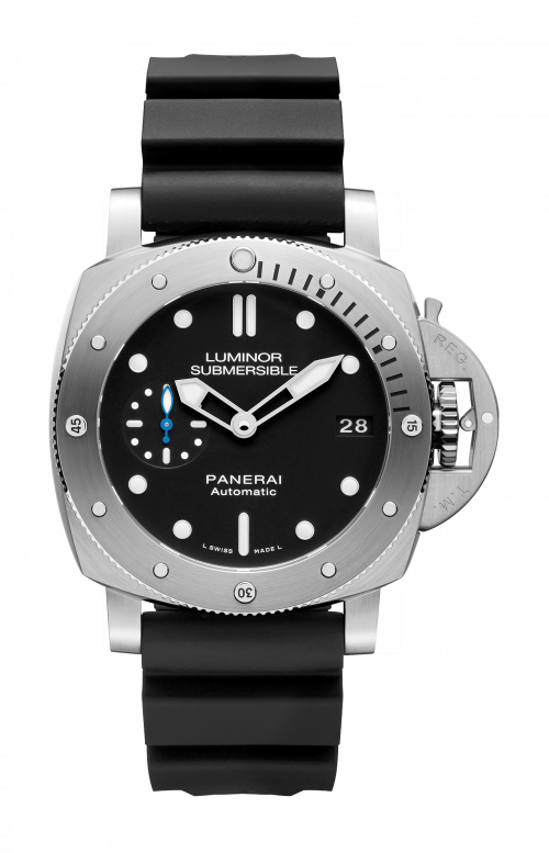 LUMINOR SUBMERSIBLE 1950 3 DAYS AUTOMATIC ACCIAIO - 42MM - PAM00682