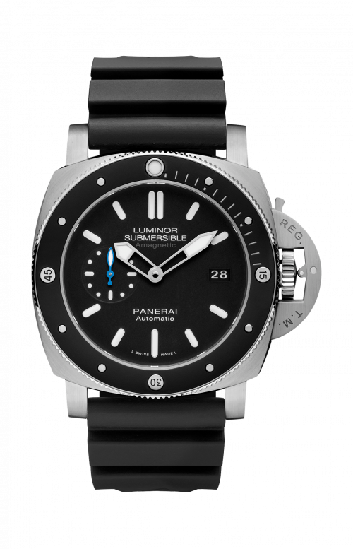 LUMINOR SUBMERSIBLE 1950 AMAGNETIC 3 DAYS AUTOMATIC TITANIO - 47MM - PAM01389