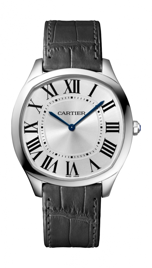 DRIVE DE CARTIER ULTRAPIATTO ORO BIANCO, PELLE - LIMITED EDITION 200 PZ. - WGNM0007