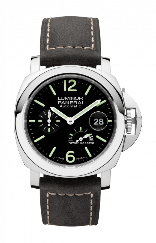 LUMINOR POWER RESERVE AUTOMATIC ACCIAIO - 44MM - PAM01090