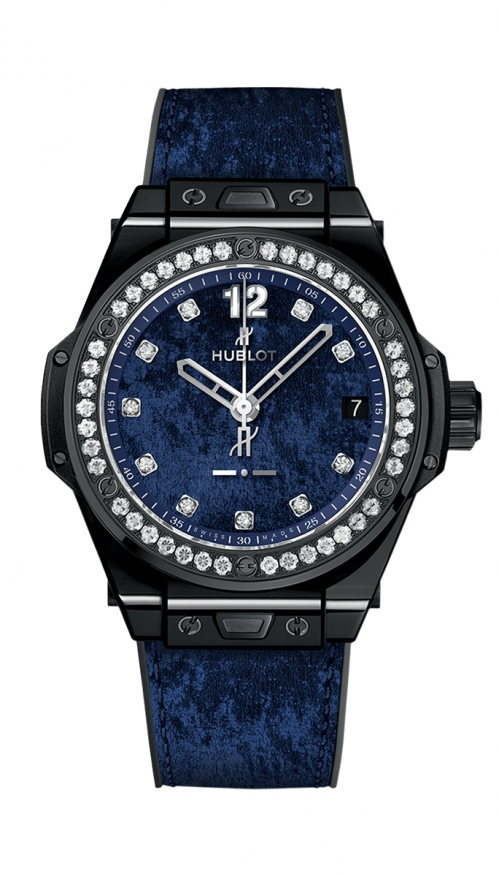 ONE CLICK ITALIA INDEPENDENT DARK BLUE VELVET - LIMITED EDITION 100 PZ. - 465.CS.277J.NR.1204.ITI17