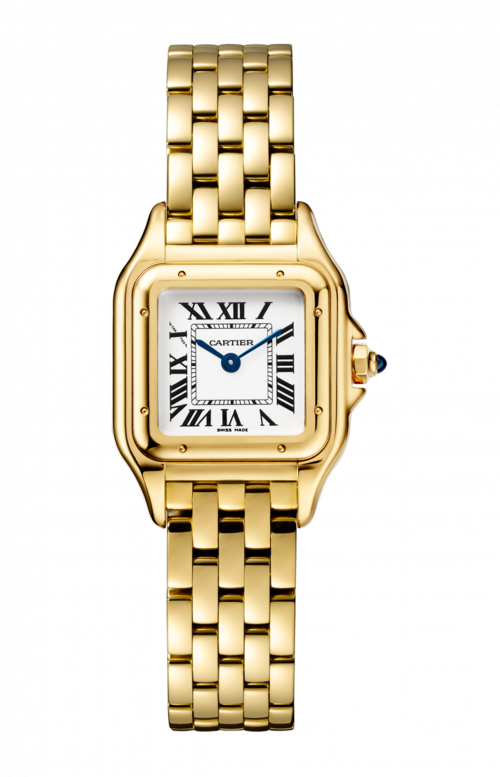 PANTHÈRE DE CARTIER WATCH SMALL MODEL, YELLOW GOLD - WGPN0008
