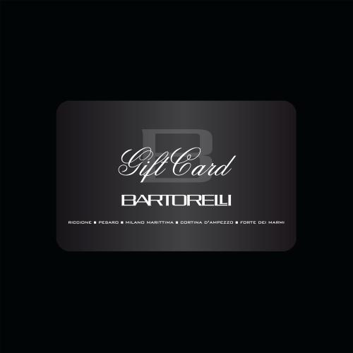 GIFT CARD BARTORELLI - € 600,00