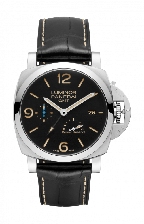 LUMINOR 1950 3 DAYS GMT POWER RESERVE AUTOMATIC ACCIAIO - 44 MM - PAM01321